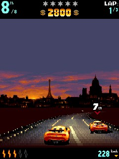 Игра Asphalt Urban GT для LG KP500